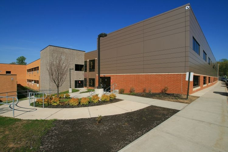 randolph high school renovations solutions architecture